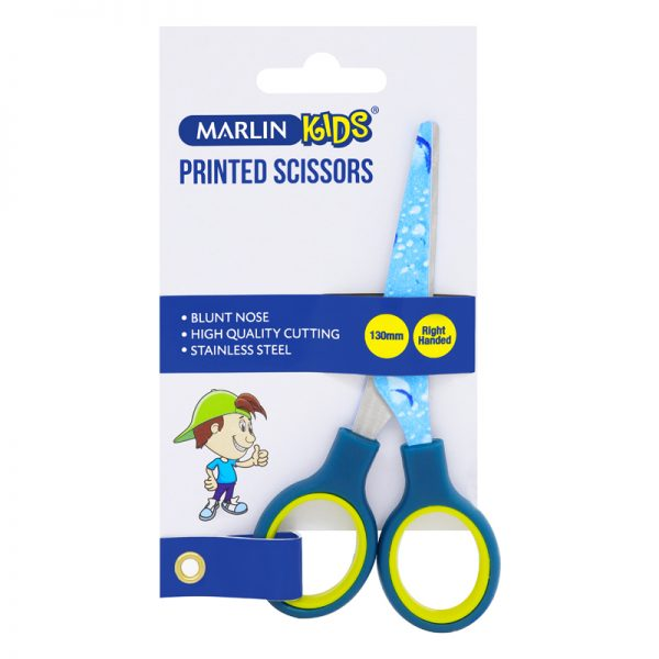 Scissors - Stainless Steel With Plastic Handles (Sizes May Vary)