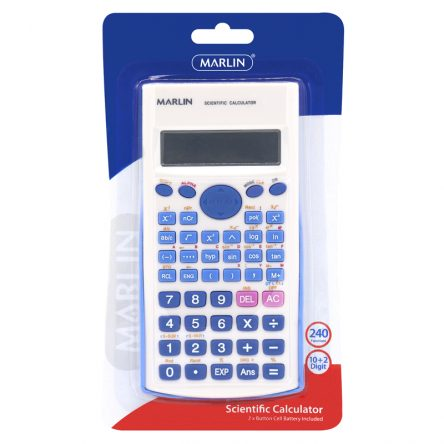 Scientific Calculator In Blister Card 240 Functions